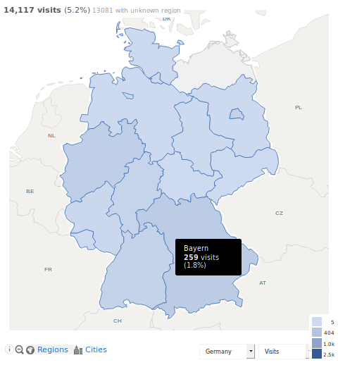 Germany-map-showing-visits-by-region